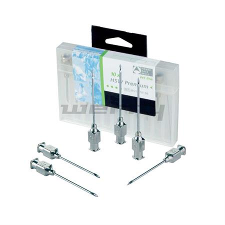 HSW Premium-Kanülen 1,0 x 10 mm mit Luer-Lock