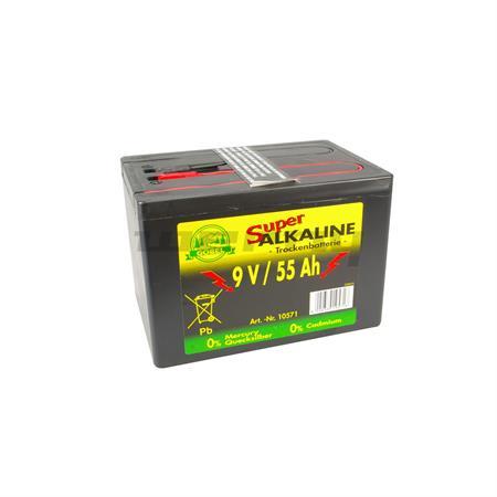 Weidezaunbatterie Alkaline 55 Ah