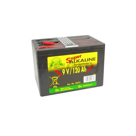 Weidezaunbatterie Alkaline 120 Ah