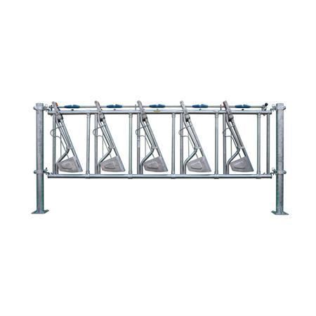 Sicherheits-Selbstfangfressgitter 5 Plätze auf 4 m