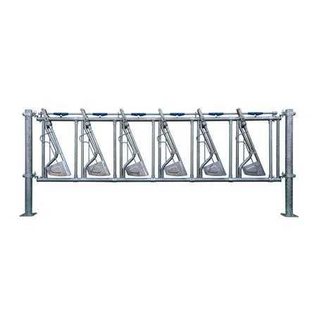 Sicherheits-Selbstfangfressgitter 6 Plätze auf 4 m