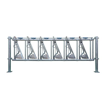 Sicherheits-Selbstfangfressgitter 6 Plätze auf 4,4 m