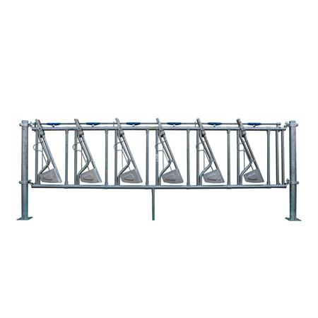 Sicherheits-Selbstfangfressgitter 7 Plätze auf 4,75 m