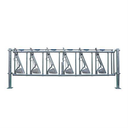 Sicherheits-Selbstfangfressgitter 6 Plätze auf 5 m
