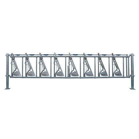 Sicherheits-Selbstfangfressgitter 8 Plätze auf 6 m