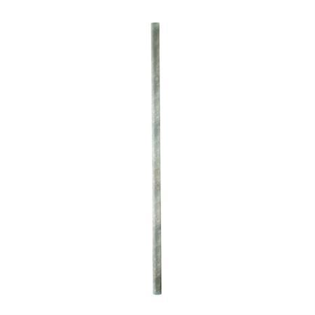 Pfosten Ø 76 mm zum Einbetonieren - 170 cm lang