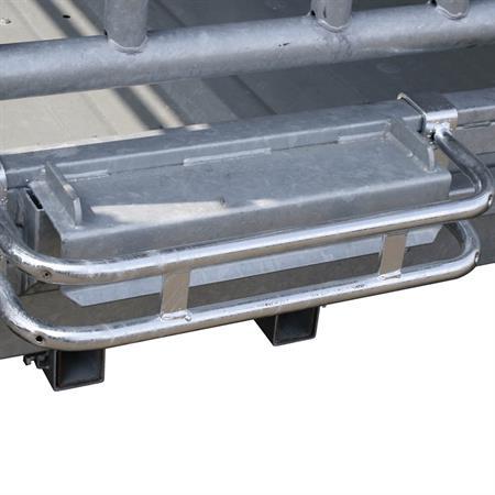 Dreipunktschutzbügel für Viereck-/ Großballenraufe