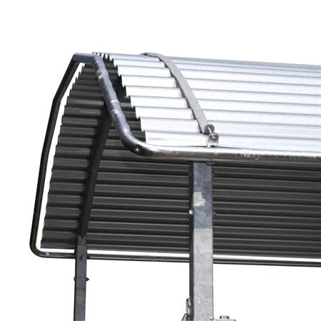 Dachkantenschutz für Viereckraufe 2 x 2 m