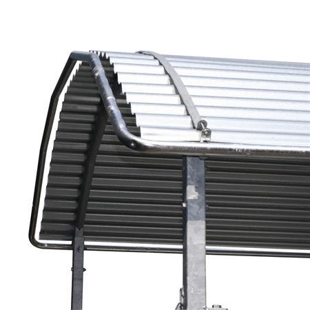 Dachkantenschutz für Viereckraufe 2 x 3 m