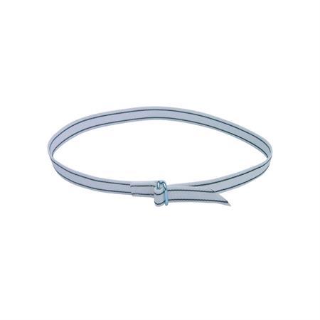 Halsmarkierungsband 120 cm mit Rollschnalle
