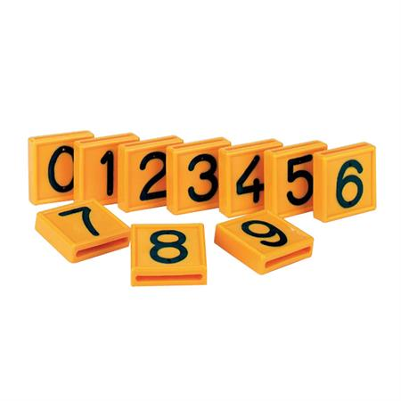 Nummernblock für Halsmarkierungsband