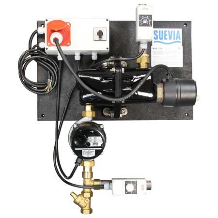 Heizgerät Suevia Mod. 311 / 400 V / mit Rücklauftemperatur