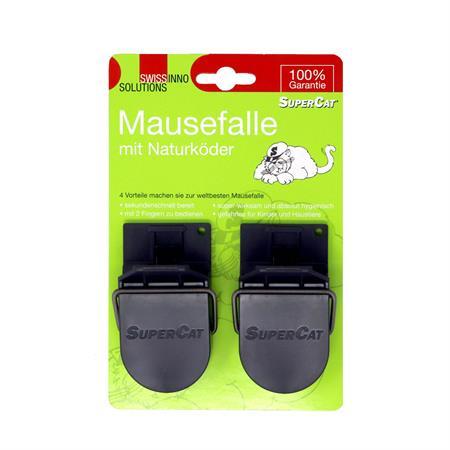 Mausefalle Super-Cat 2er-Pack