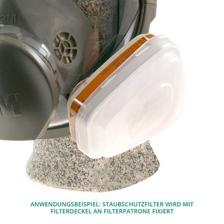 3M Staubschutzfilter 5911 P1 für Gasfilter (2 Stück)