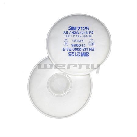 3M Feinstaubfilter 2125 P2 (2 Stück)