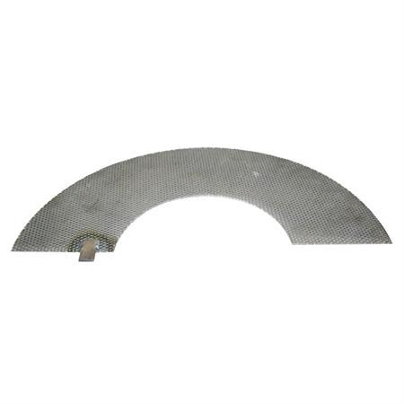 Hammermühlensiebe passend zu Neuero 490 x 225 x 2 mm