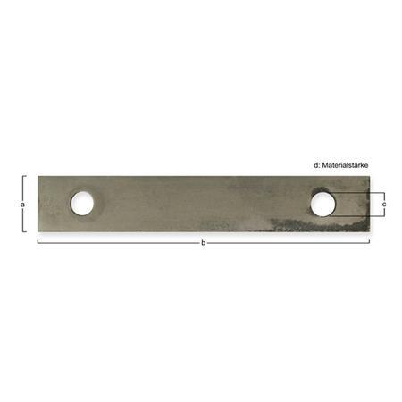 Hammermühlen-Schläger passend zu Ley 180 x 30 x 4,0 mm