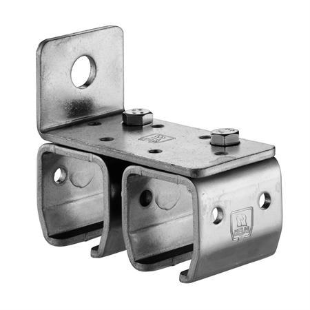 Doppelwandmuffe Nr. 301 D - 50 mm für 300er Schiene