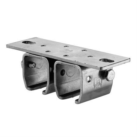 Doppeldeckenmuffe Nr. 302 D - 50 mm für 300er Schiene