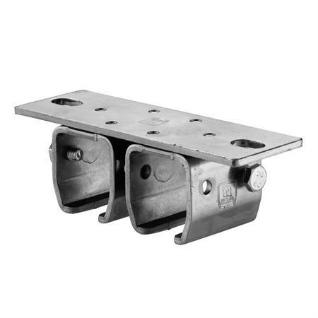 Doppeldeckenmuffe Nr. 402 D - 90 mm für 400er Schiene