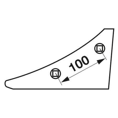 Anlagenkeil pass. zu Lemken rechts