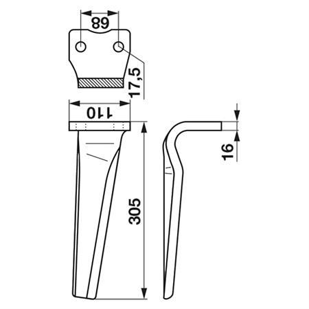 Kreiseleggen-Zinken passend zu Kuhn rechts
