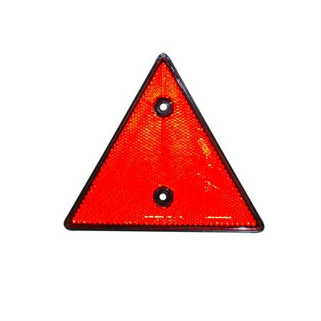 Dreieckrückstrahler GEKA in Kunststofffassung