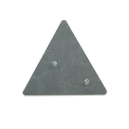 Dreieckrückstrahler GEKA in Metallfassung