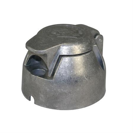 Metall-Steckdose GEKA 7-polig