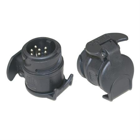 Adapterstück 13-poliger Stecker / 7-polige Kupplung
