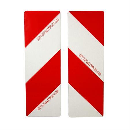 Warntafelsatz mit Folie 2-teilig 423 x 141 mm