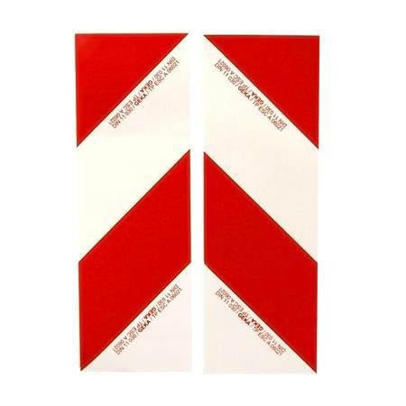 Warnfoliensatz selbstklebend 2-teilig 423 x 141 mm