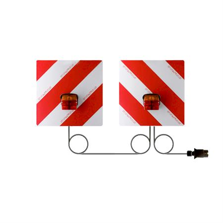 Warntafelsatz Heck mit Beleuchtung 423 x 423 mm
