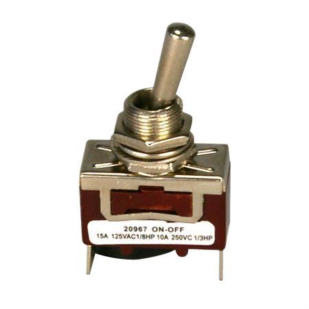 Kippschalter Metall 2-polig