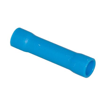 Stoßverbinder blau isoliert / 1,5 - 2,5 mm² / 25 Stück
