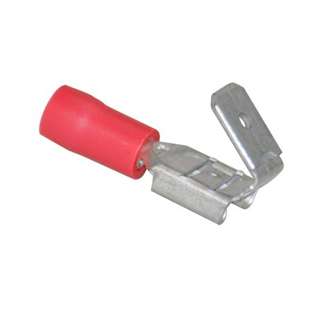 Steckverteiler rot Ø 6,3 mm / 0,5 - 1,0 mm² / 50 Stück