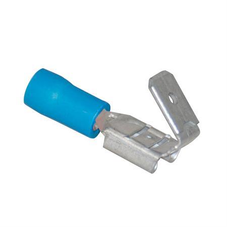 Steckverteiler blau Ø 6,3 mm / 1,5 - 2,5 mm² / 50 Stück