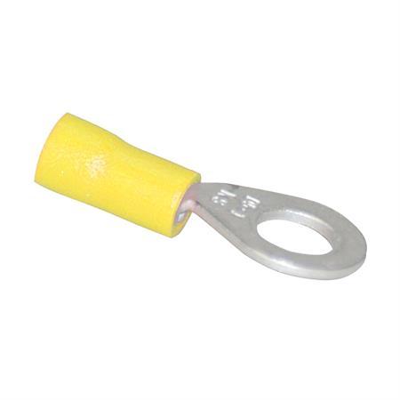 Kabelschuh gelb Ø 6 mm / 4,0 - 6,0 mm² / 50 Stück
