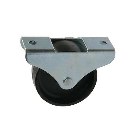 Bockrolle Kunststoff 50 mm