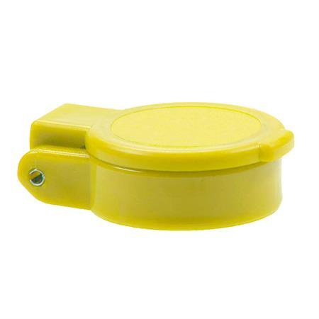 Staubklappe selbstschliessend gelb