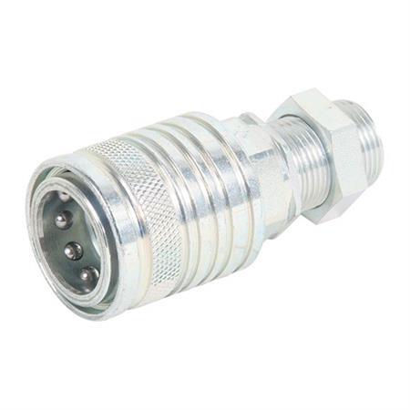 Hydraulik-Kupplung 15-L / Gr. 3 mit Schottverschraubung