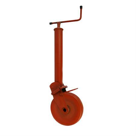 Stützrad mit Stahlrohr 1000 kg / Rad 275 x 70 mm
