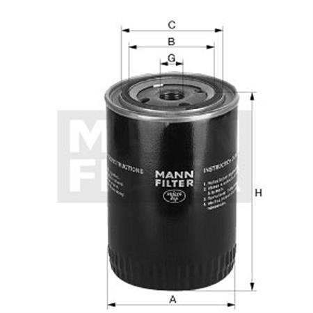 Ölfilter MANN W 1374/6