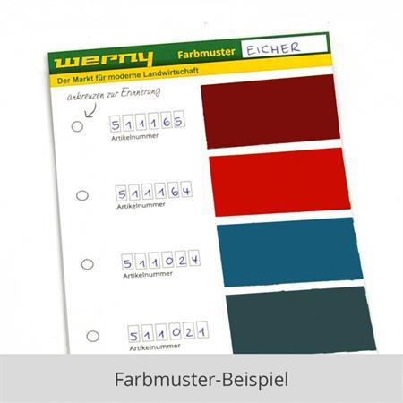 Farbmuster Schlepperlacke