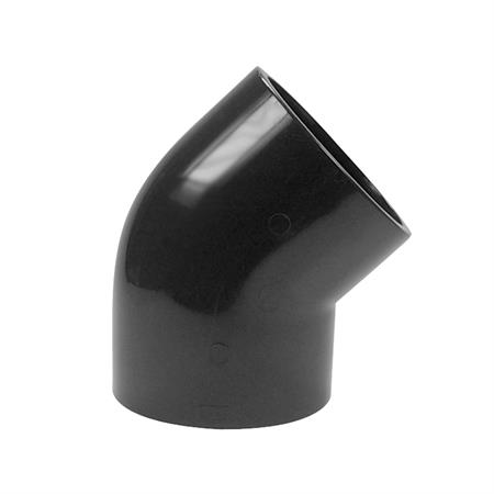 Winkel 45° - 2 x Klebemuffe Ø 200 mm