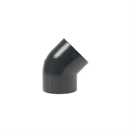 Winkel 45° - 2 x Klebemuffe Ø 110 mm
