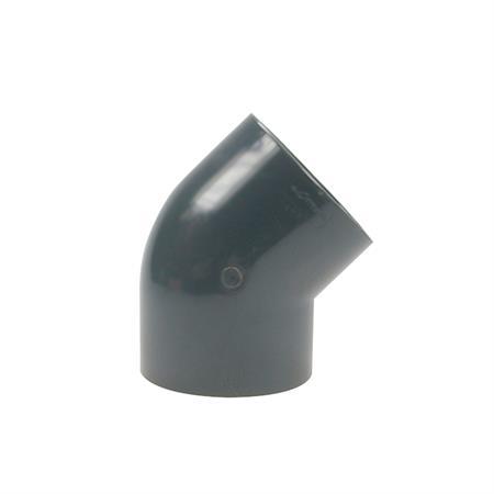 Winkel 45° - 2 x Klebemuffe Ø 140 mm