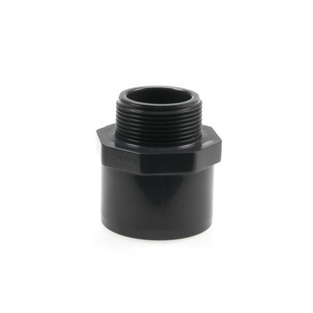 """Übergangsnippel Ø 63/50 mm x 1 1/2"""" AG"""