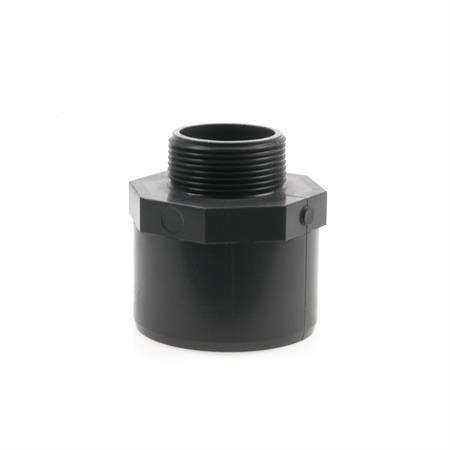 """Übergangsnippel Ø 75/63 mm x 1 1/2"""" AG"""
