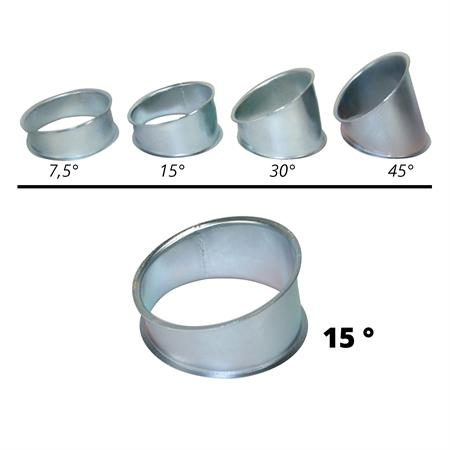 Segment Ø 120 mm - 15°